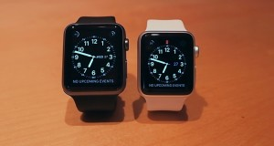 Apple-Watch-Size-Comparison-38mm-White-Silver-42mm-Black-Space-Grey-Gray-Sport-Band-Collection