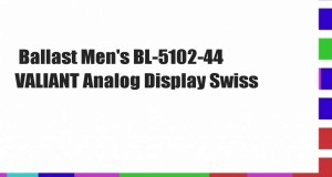 Ballast-Mens-BL-5102-44-VALIANT-Analog-Display-Swiss