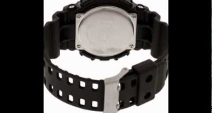 Casio-Mens-GA100-1A1-Black-Resin-Quartz-Watch-with