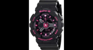 Casio-Womens-BA-111-1ACR-Baby-G-Analog-Digital-Display-Quartz-Black-Watch