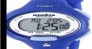 Check-Timex-Womens-T5K784-Ironman-Blue-Resin-Sport-Watch-Slide