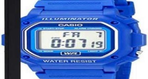 Details-Casio-F108WH-Water-Resistant-Digital-Blue-Resin-Strap-Watch-Top-List