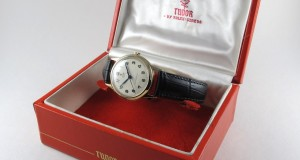Gold-Tudor-Rolex-Royal-vintage-wristwatch-hallmarked-1955