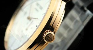 High-Quality-Swiss-White-Dial-Black-Leather-Strap-Pink-Gold-Case-Watches