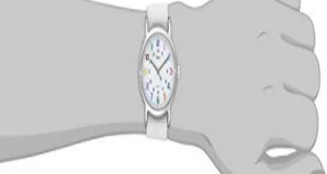 New-Timex-Womens-T2N837KW-Weekender-Slip-Through-Strap-Watch-Slide