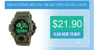 Skmei-waterproof-unisex-dual-time-mode-sports-watches-4-colors