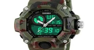 Sports-Watches-2-Time-Zone-Digital-Quartz-Watch-Waterproof-LED-Electronic-Mens-Military-W-Top