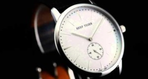 Swiss-Classic-Vintage-WatchesWhite-Dial-Stainless-Steel-Quartz-Couple-Watch