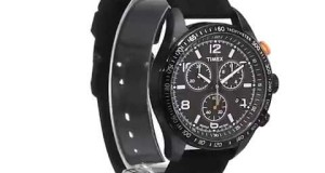 Timex-Mens-T2P0439J-Analog-Display-Analog-Quartz-Black-Watch-Overview