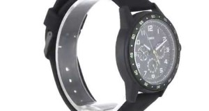 Timex-Mens-T2P044KW-Ameritus-Watch-with-Black-Silicone-Strap-Overview