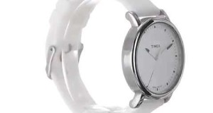Timex-Womens-T2P169AB-Originals-Silver-Tone-Watch-with-White-Silicone-Strap-Overview