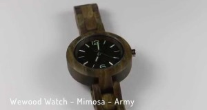 Wewood-Watch-Mimosa-Army-Review